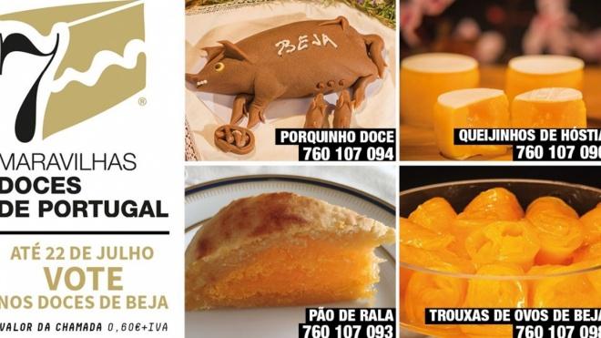 """Votações abertas para as """"7 Maravilhas Doces de Portugal"""""""