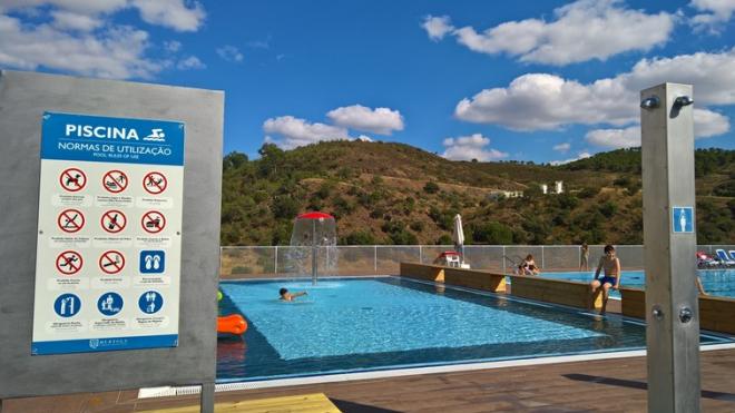 Piscina Municipal de Mértola aberta até 15 de setembro