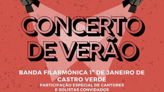 Concerto de Verão da Banda Filarmónica de Castro Verde