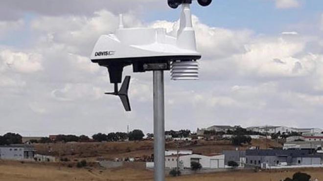 Estação meteorológica em Almodôvar