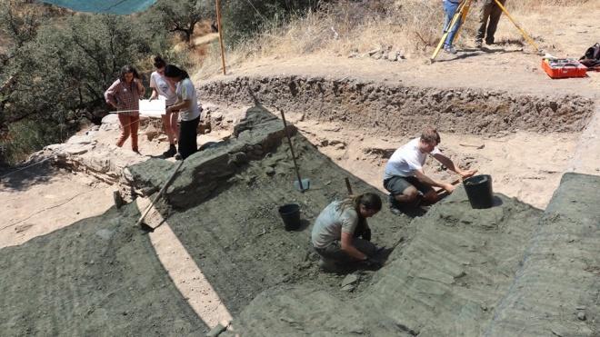 Escavações arqueológicas em Safara
