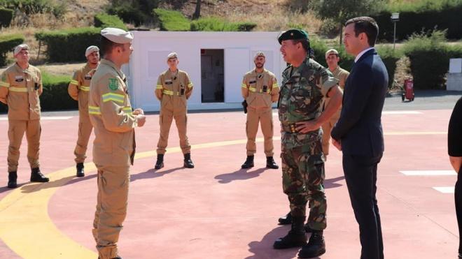 """Ourique ponto """"estratégico"""" da protecção civil a sul do País"""