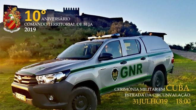 GNR de Beja comemora 10º aniversário em Cuba