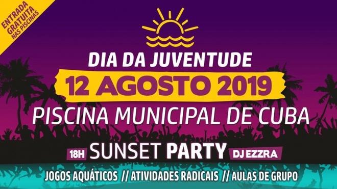 Dia da Juventude celebrado na Piscina de Cuba