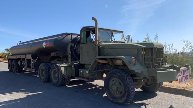 Exército estacionou em Ourique camião cisterna com 20 mil litros de combustível