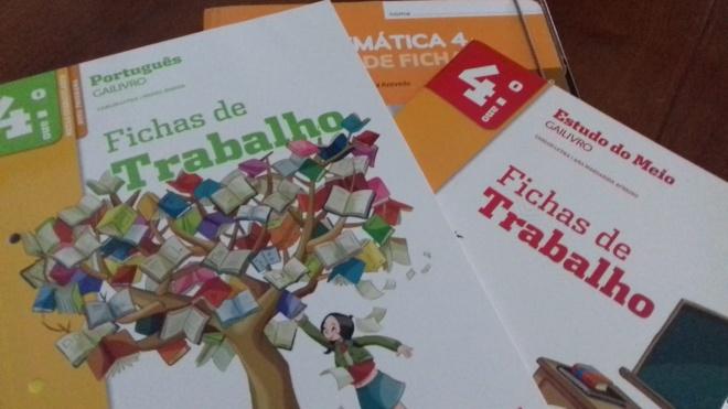 Almodôvar oferece cadernos de atividades aos alunos do 1ºciclo