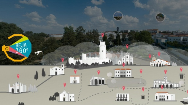 Beja tem novo mapa interactivo designado Beja 360