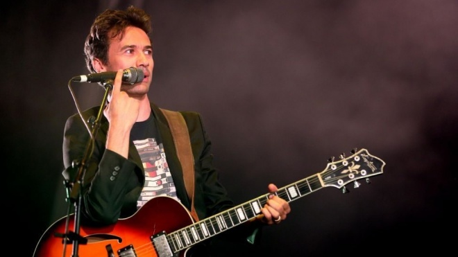 David Fonseca em concerto na Feira Anual de Cuba