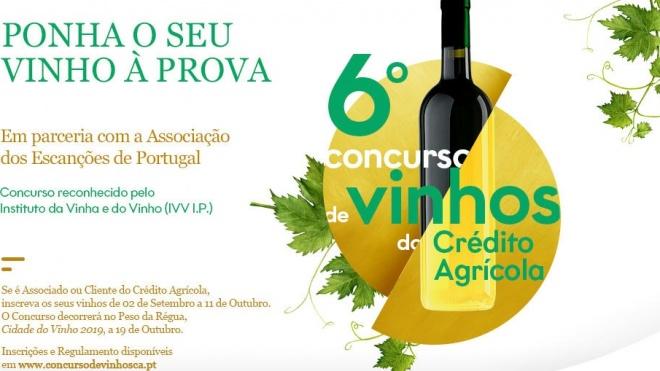 6ª Edição do Concurso de Vinhos do Crédito Agrícola