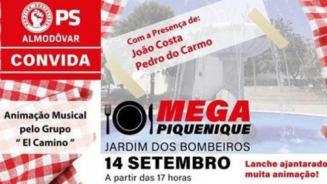 Pedro do Carmo participa em Mega Piquenique em Almodôvar
