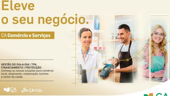 Crédito Agrícola apoia Comércio e Serviços