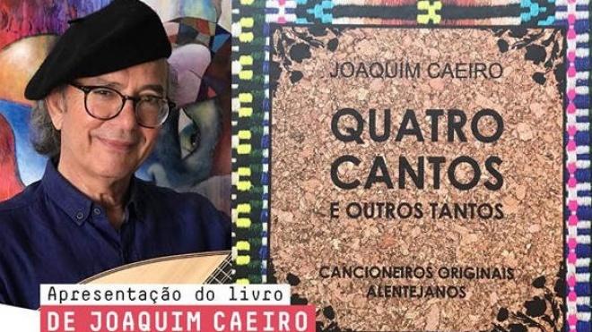 Livro de Joaquim Caeiro apresentado em Beja