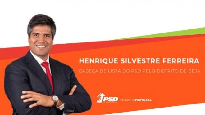 Legislativas 2019: Henrique Silvestre Ferreira presta hoje a sua Prova Oral