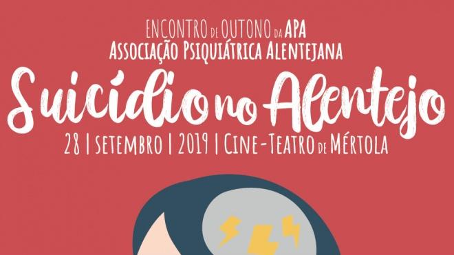 "Encontro da APA ""Suicídio no Alentejo"" realiza-se hoje em Mértola"