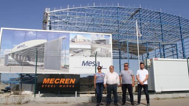 Candidatos do PS visitam obras da HiFly no Aeroporto de Beja