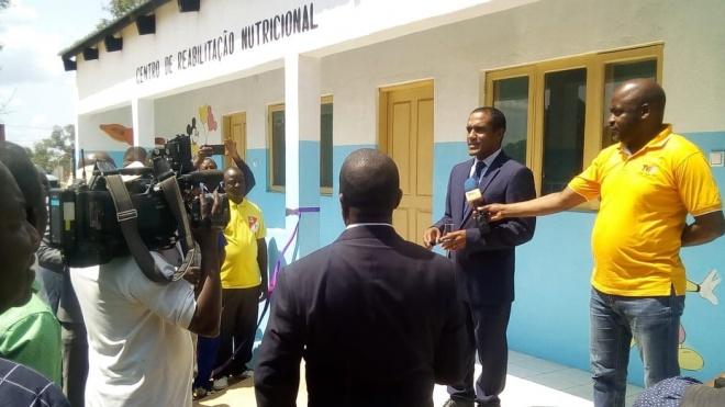ADPM: Centro de Reabilitação Nutricional para crianças em Monapo