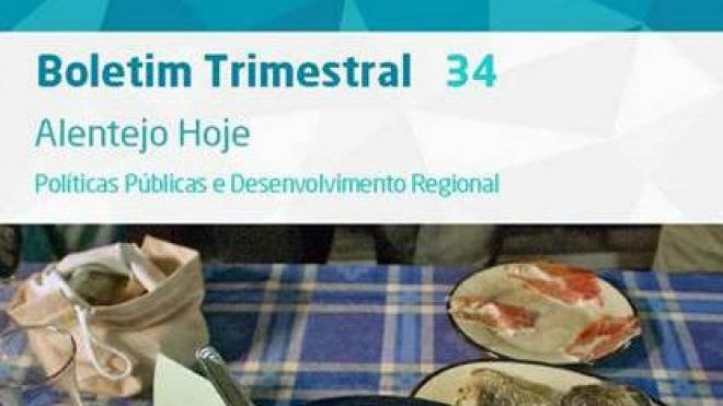 """Boletim trimestral: """"Alentejo hoje – Políticas Públicas e Desenvolvimento Regional"""""""