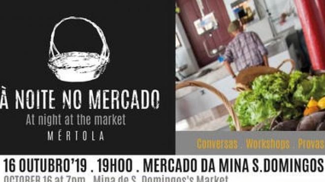 """""""À Noite no Mercado"""" na Mina de S. Domingos"""