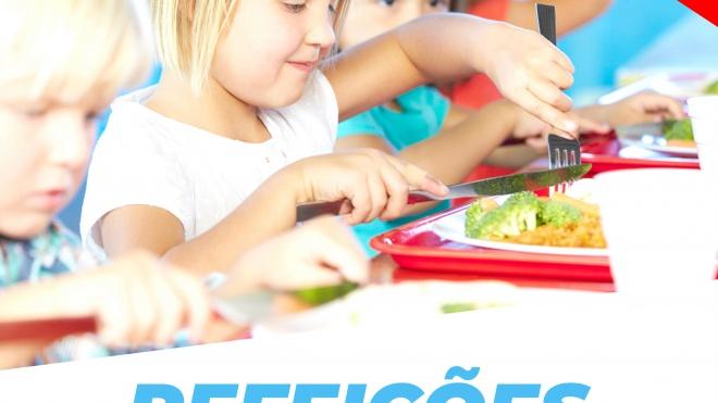 Ourique volta a desafiar pais a experimentarem as refeições escolares