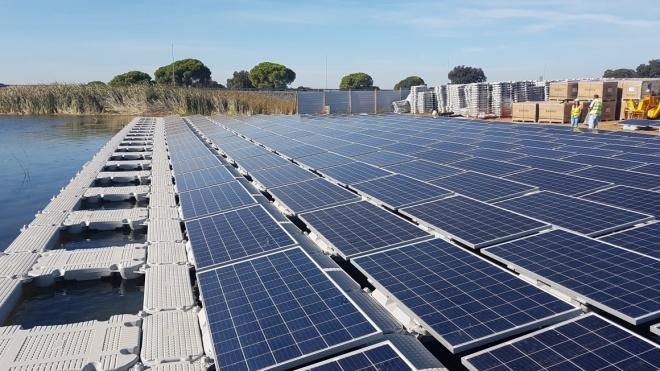 EDIA lança maior projeto fotovoltaico flutuante da Europa