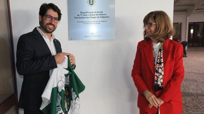 Inauguração da obra de requalificação da EBI de Vidigueira
