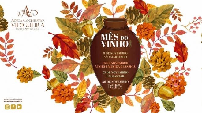 Mês do Vinho arranca hoje em Vidigueira