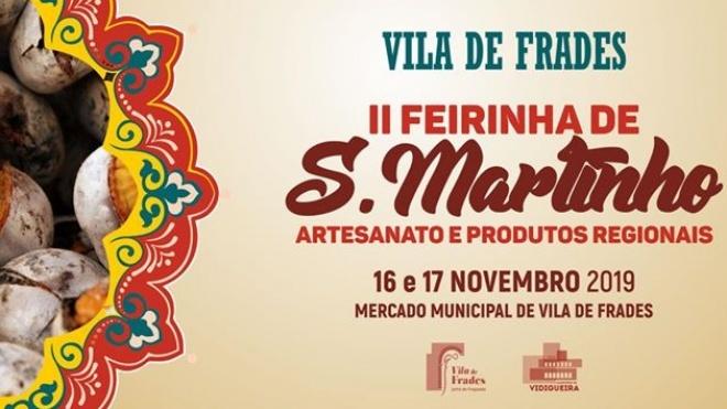 Vila de Frades prepara II Feirinha de S.Martinho