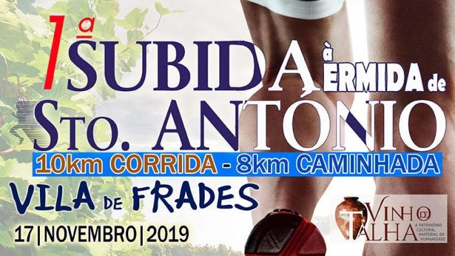 1ª Subida à Ermida de Stº António em Vila de Frades