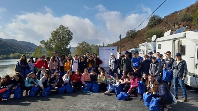 Pomarão foi palco de uma campanha de sensibilização ambiental transfronteiriça