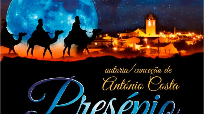 Presépio de António Costa para apreciar em Santana de Cambas