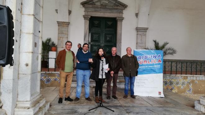 Beja recebe tribuna pública em defesa da Água Pública