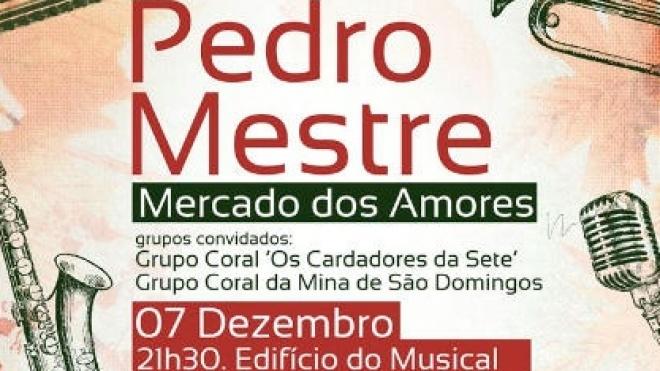 Pedro Mestre na Mina de S. Domingos