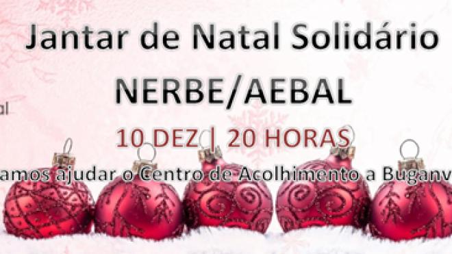 NERBE/AEBAL promove jantar solidário