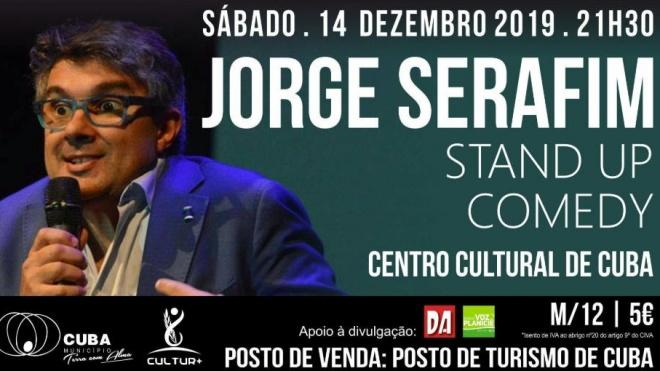 Jorge Serafim apresenta-se neste sábado no Centro Cultural de Cuba