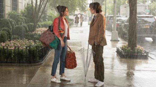 """""""Um dia de chuva em Nova Iorque"""" para ver hoje em Beja"""