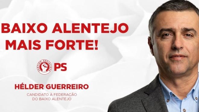 Hélder Guerreiro promove roteiro pelas concelhias do PS