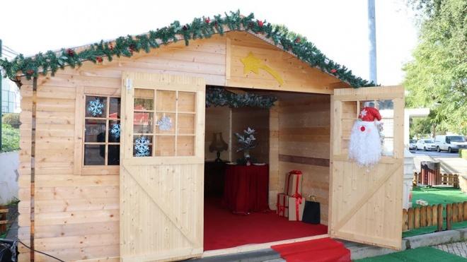 Casa do Pai Natal e Mercado de Natal em Ourique