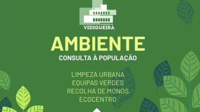 """Vidigueira: autarquia promove """"inquérito"""" junto da população"""