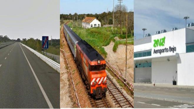 """""""Aeroporto, ferrovia e rodovia"""" inscritos no plano de recuperação económica 2020/30"""