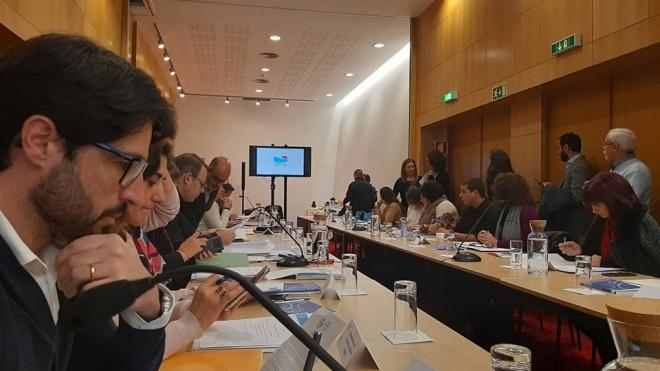 Rui Raposo participou em reunião do Movimento Municípios pela Paz