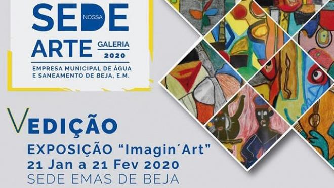"""""""Imagin'Art"""" patente ao público na EMAS de Beja"""