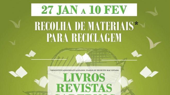 Moura promove projeto de recolha de materiais para reciclagem