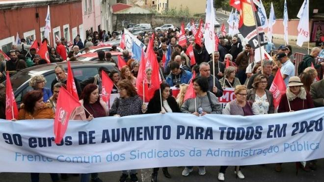 Greve geral da função pública marcada para 6ª feira