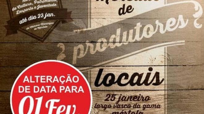 Mercado de Produtores Locais de Mértola realiza-se hoje