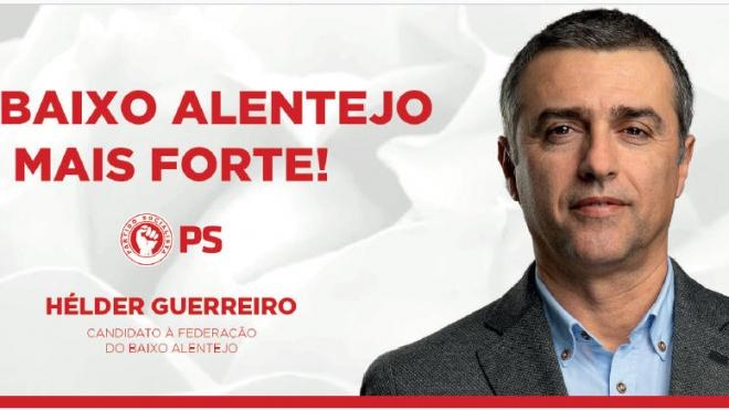 """Hélder Guerreiro quer """"iniciar um ciclo político novo no PS"""""""