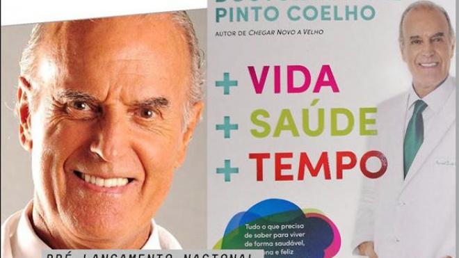 """Apresentação do livro """"+ vida + saúde + tempo"""""""