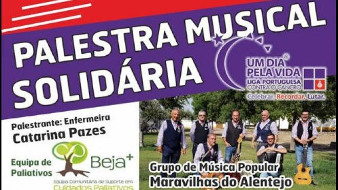 Cine Oriental de Aljustrel recebe hoje palestra musical solidária