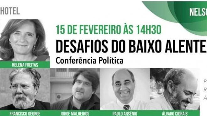"""Nelson Brito promove hoje em Beja """"conferência política aberta à sociedade"""""""