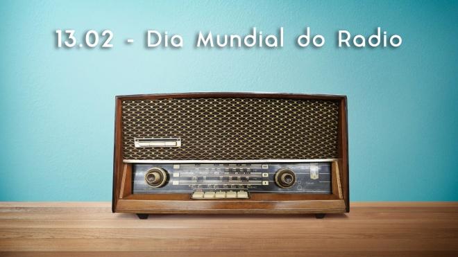 Hoje celebra-se o Dia Mundial da Rádio