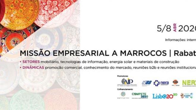 NERBE/AEBAL: Missão Empresarial a Marrocos